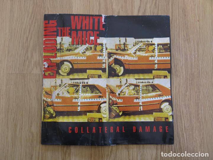 THE EXPLODING WHITE MICE LP COLLATERAL DAMAGE NEW CHRISTS CELIBATE RIFLES MEANIES RADIO BIRDMAN (Música - Discos - LP Vinilo - Punk - Hard Core)