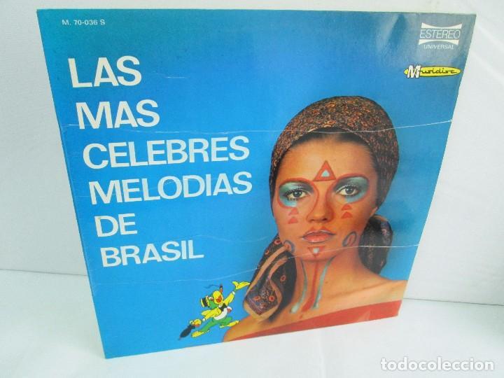 LAS MAS CELEBRES MELODIAS DE BRASIL. LP VINILO. MARFER 1972. VER FOTOGRAFIAS (Música - Discos - LP Vinilo - Étnicas y Músicas del Mundo)