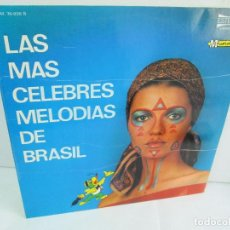 Discos de vinilo: LAS MAS CELEBRES MELODIAS DE BRASIL. LP VINILO. MARFER 1972. VER FOTOGRAFIAS. Lote 113583007