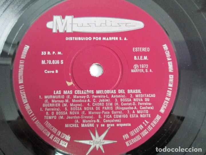 Discos de vinilo: LAS MAS CELEBRES MELODIAS DE BRASIL. LP VINILO. MARFER 1972. VER FOTOGRAFIAS - Foto 7 - 113583007