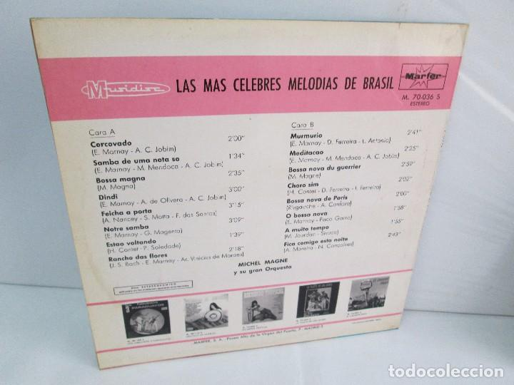 Discos de vinilo: LAS MAS CELEBRES MELODIAS DE BRASIL. LP VINILO. MARFER 1972. VER FOTOGRAFIAS - Foto 12 - 113583007