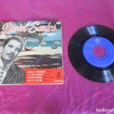 Discos de vinilo: DANIEL SANTOS BAILA CONMIGO EP HISPAVOX 1959. Lote 113584743