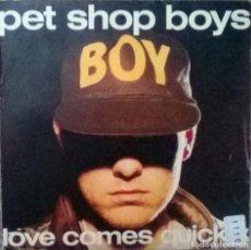 Vinyl records - Pet Shop Boys. Love comes quickly/ That's my impression. Emi, Spain 1986 (single promocional) - 113594659