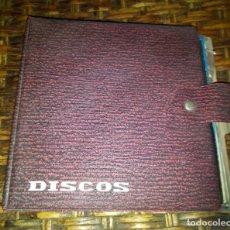 Discos de vinilo: CARPETA 9 EPS VINILOS 45RPM. Lote 113603703