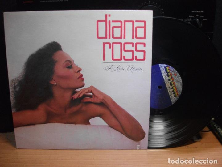 DIANA ROSS TO LOVE AGAIN LP MOTOWN USA 1981 PDELUXE (Música - Discos - LP Vinilo - Funk, Soul y Black Music)