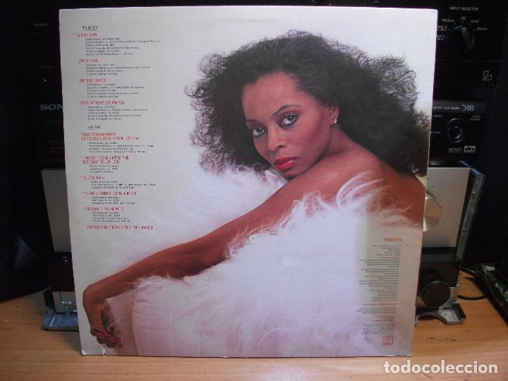 Discos de vinilo: DIANA ROSS TO LOVE AGAIN LP MOTOWN USA 1981 PDELUXE - Foto 2 - 113608455