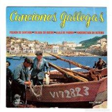 Discos de vinilo: CANCIONES GALLEGAS.. Lote 113610499