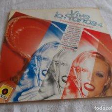 Discos de vinilo: VIVE LA FRANCE 4. Lote 113612575