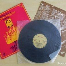 Discos de vinilo: JOAN MANUEL SERRAT - DEDICADO A ANTONIO MACHADO - VINILO ORIGINAL ZAFIRO/NOVOLA 1969. Lote 113617339