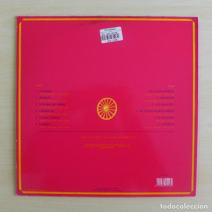 Discos de vinilo: JOAN MANUEL SERRAT - DEDICADO A ANTONIO MACHADO - VINILO ORIGINAL ZAFIRO/NOVOLA 1969 - Foto 3 - 113617339