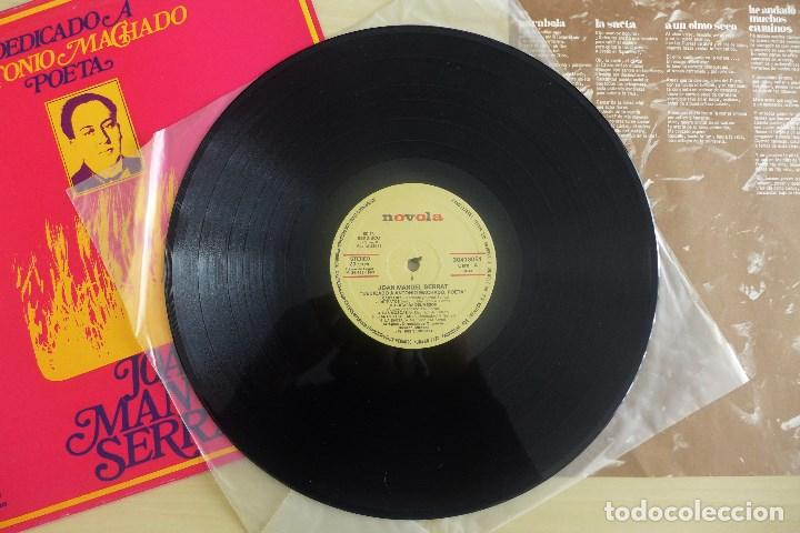 Discos de vinilo: JOAN MANUEL SERRAT - DEDICADO A ANTONIO MACHADO - VINILO ORIGINAL ZAFIRO/NOVOLA 1969 - Foto 5 - 113617339