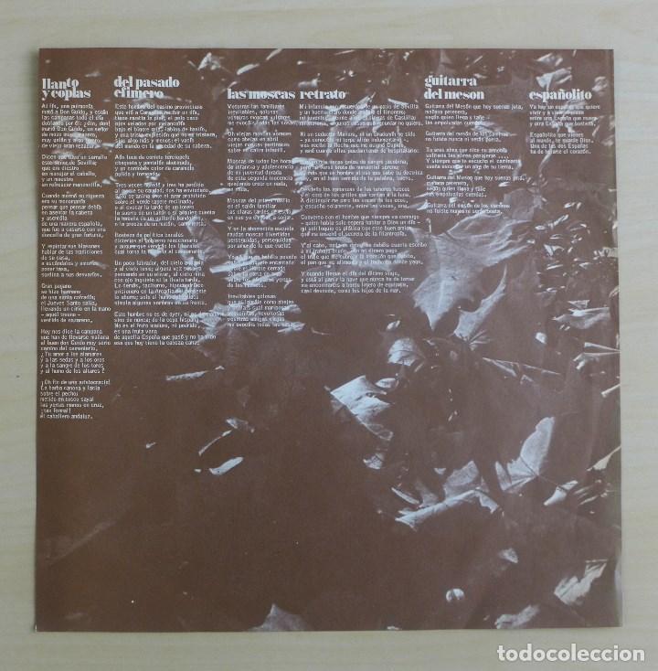 Discos de vinilo: JOAN MANUEL SERRAT - DEDICADO A ANTONIO MACHADO - VINILO ORIGINAL ZAFIRO/NOVOLA 1969 - Foto 10 - 113617339