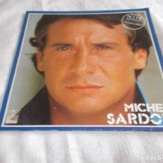 Discos de vinilo: MICHEL SARDOU AFRIQUE ADIEU . Lote 113617711
