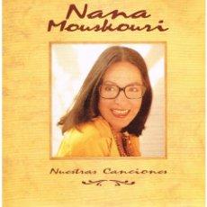 Discos de vinilo: NANA MOUSKOURI - NUESTRAS CANCIONES - DOBLE LP 1991 - BUEN ESTADO. Lote 113619191