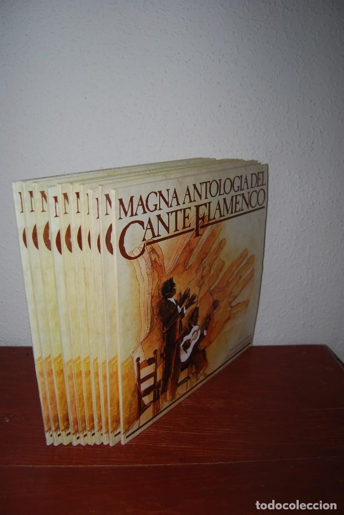 MAGNA ANTOLOGÍA DEL CANTE FLAMENCO - COMPLETO 20 VINILOS (Música - Discos - Singles Vinilo - Flamenco, Canción española y Cuplé)