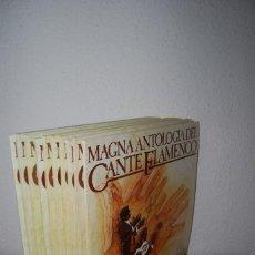 Discos de vinilo: MAGNA ANTOLOGÍA DEL CANTE FLAMENCO - COMPLETO 20 VINILOS. Lote 113621087