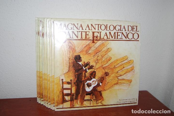 Discos de vinilo: MAGNA ANTOLOGÍA DEL CANTE FLAMENCO - COMPLETO 20 VINILOS - Foto 2 - 113621087
