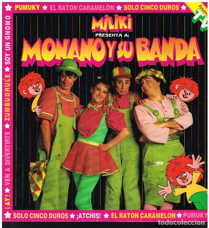 MONANO Y SU BANDA - MILIKI PRESENTA A - LP 1985 (Música - Discos - LPs Vinilo - Música Infantil)