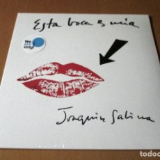 Discos de vinilo: JOAQUIN SABINA - ESTA BOCA ES MIA - LP PICTURE DISC - ARIOLA / SONY MUSIC 2017 - NUEVO PRECINTADO. Lote 203358921