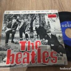 Discos de vinilo: EP THE BEATLES BOYS CHAINS +2 PORTADA BIEN DISCO BUEN SONIDO. Lote 113632451