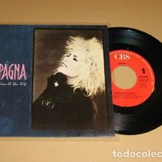 Discos de vinilo: SPAGNA - I WANNA BE YOUR WIFE - SINGLE - 1988. Lote 113633411