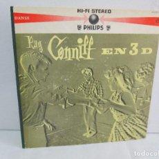 Discos de vinilo: RAY CONNIFF EN 3D. LP VINILO. PHILIPS 1959. VER FOTOGRAFIAS ADJUNTAS. Lote 113633487