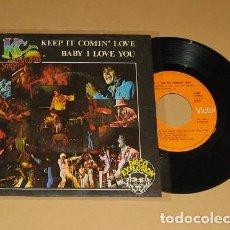 Discos de vinilo: KC AND THE SUNSHINE BAND - KEEP IT COMIN' LOVE - SINGLE - 1977. Lote 113633783