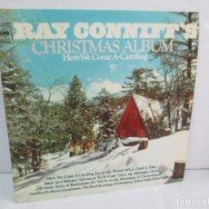 Discos de vinilo: RAY CONNIFF´S.CHRISMAS ALBUM. HERE WE COME A. CAROLING. LP VINILO. CBS 1974.. Lote 113634131