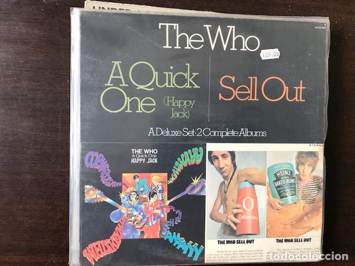 A QUICK ONE / SELL OUT. THE WHO (Música - Discos - LP Vinilo - Pop - Rock Extranjero de los 50 y 60)