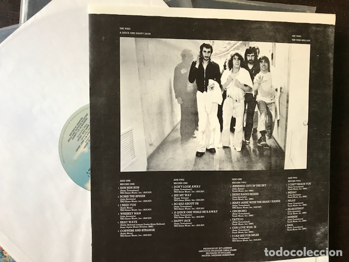 Discos de vinilo: A quick one / Sell out. The Who - Foto 4 - 113643950