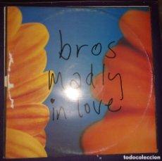 Discos de vinilo: BROS - MADLY IN LOVE 12´´ MAXI EN VINILO.. Lote 113644643