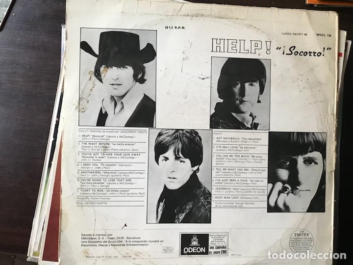 Discos de vinilo: Help. The Beatles - Foto 2 - 113645436