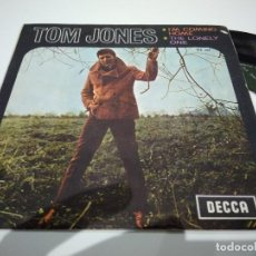 Discos de vinilo: SINGLE TOM JONES I, M COMING VG++. Lote 113648635