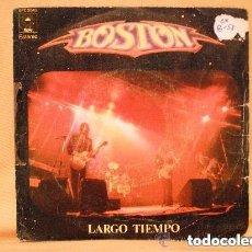 Discos de vinilo: BOSTON - LARGO TIEMPO (SG) 1977. Lote 113649299