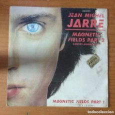 Discos de vinilo: JEAN MICHEL JARRE: MAGNETIC FIELDS PART 2 (CANTOS MAGNÉTICOS) / MAGNETIC FIELDS PART 1 7´´ SINGLE.. Lote 113649311