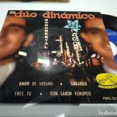Discos de vinilo: EP DUO DINAMICO AMOR DE VERANO MUY BUEN SONIDO. Lote 113649855