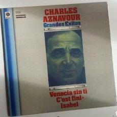 Discos de vinilo: (SEVILLA) LP - CHARLES AZNAVOUR - GRANDES EXITOS. Lote 113661296