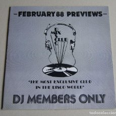 Discos de vinilo: DISCO MIX CLUB - VARIOS (FEBRUARY 88 MIXES). Lote 113661511