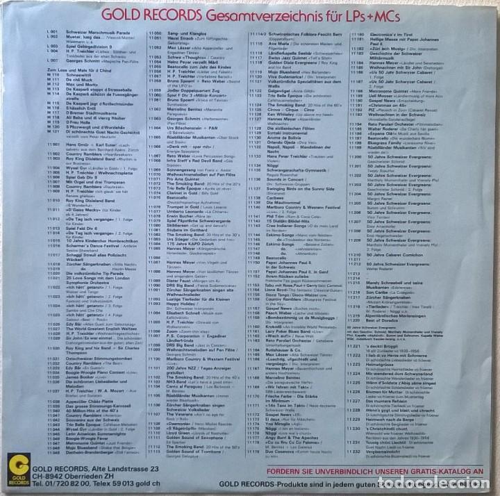 Discos de vinilo: Tabu-Orchestra und Rose, Paul & Gerry-Italo-Carneval Giro Italia On 45, Gold Records-11 153, Gold - Foto 5 - 113670959