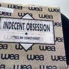 Discos de vinil: SINGLE (VINILO)-PROMOCION- DE INDECENT OBSESSION AÑOS 90. Lote 113672191