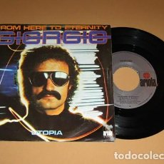 Discos de vinilo: GIORGIO MORODER - FROM HERE TO ETERNITY - SINGLE - 1977. Lote 113674875