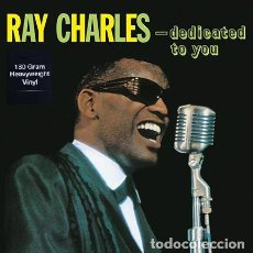 Discos de vinilo: RAY CHARLES * LP HQ VIRGIN VINYL 180G * DEDICATED TO YOU * LTD PRECINTADO!!. Lote 125476784