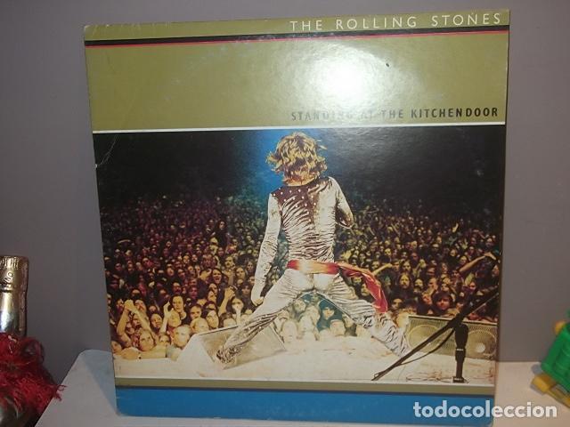 ROLLING STONES,RARO DOBLE LP STANDING AT THE KITCHENDOOR CANADA 1972 MUY BUEN ESTADO. (Música - Discos de Vinilo - Maxi Singles - Pop - Rock Extranjero de los 50 y 60)