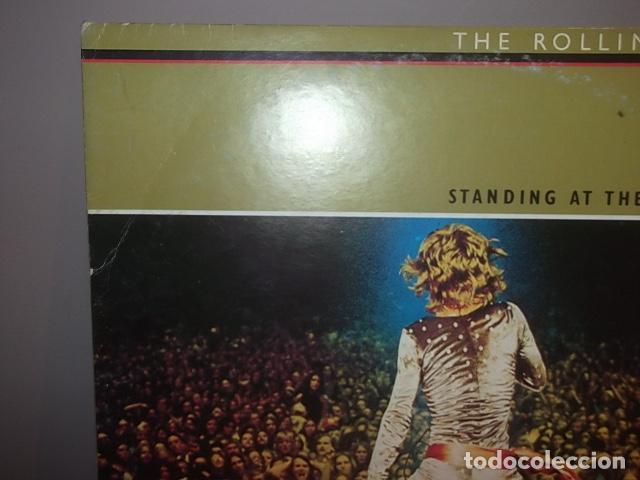 Discos de vinilo: ROLLING STONES,RARO DOBLE LP STANDING AT THE KITCHENDOOR CANADA 1972 MUY BUEN ESTADO. - Foto 2 - 113689347