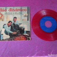 Discos de vinilo: DUO DINAMICO - EXODUS / ¡OH...NO! / SURRENDER / RECUERDA - EP SPAIN 1961 -. Lote 113689707