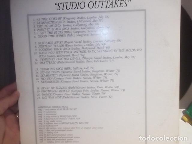 Discos de vinilo: RARO ROLLING STONES STUDIO OUTTAKES DOBLE LP EN MUY BUEN ESTADO - Foto 6 - 113690075