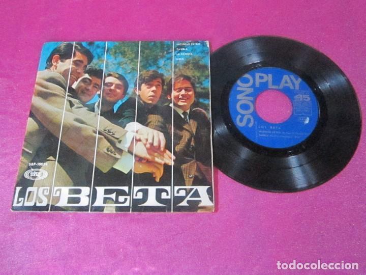 LOS BETA EP SONOPLAY 1967 INCENDIO EN RIO PAMELA LA FAMILIA GINA EP (Música - Discos de Vinilo - EPs - Grupos Españoles 50 y 60)