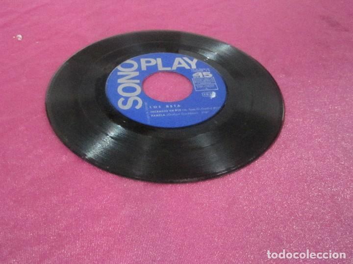 Discos de vinilo: LOS BETA EP SONOPLAY 1967 INCENDIO EN RIO PAMELA LA FAMILIA GINA EP - Foto 2 - 113695179