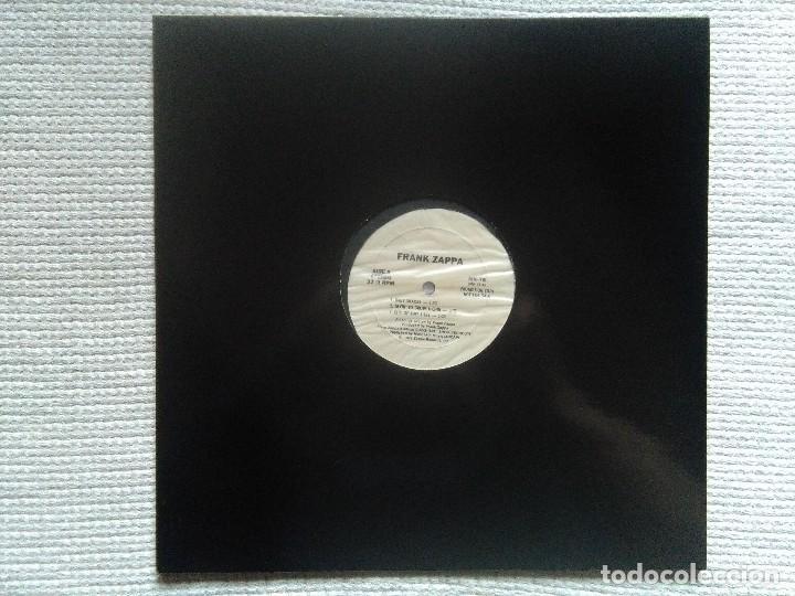 FRANK ZAPPA – '' SHEIK YERBOUTI 'CLEAN CUTS' '' LP PROMO WHITE USA 1979 (Música - Discos - LP Vinilo - Pop - Rock - Extranjero de los 70)