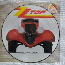 Discos de vinilo: ZZ TOP - '' ELIMINATOR '' LP PICTURE DISC 1985 UK. Lote 113710215